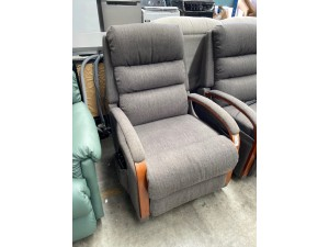 CHARLESTON POWER LIFT CHAIR ESPRIT/SLATE F/S PILLING  - RRP $1400 (I-893078 SN-63493152)