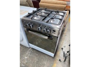 UPRIGHT OVEN UNI-IRON60 60CM IRON SERIES (6604D- IRON) INCLUDES 2 YEAR MANUFACTURER'S WARRANTY GAS COOK TOP/ELECTRIC OVEN