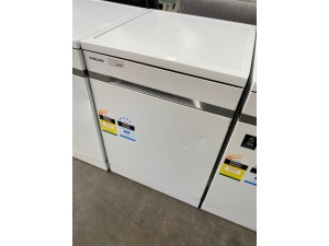 SAMSUNG DISHWASHER - WATERWALL FREESTANDING DISHWASHER WHITE(DW60H9950FW) - SOLD AS IS - INCLUDES 30 DAY WARRANTY FROM DATE OF PURCHASE S/N:75333