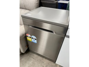 SAMSUNG DISHWASHER - WATERWALL S/S FREESTANDING (A-) PRODUCT: DW60H9970FS - SOLD AS IS - INCLUDES 30 DAYS WARRANTY FROM DATE OF PURCHASE SN:71860