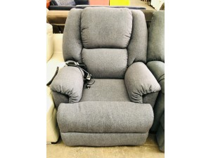 FABRIC ELECTRIC LIFT CHAIR - GRAND 77 (RRP$1900)