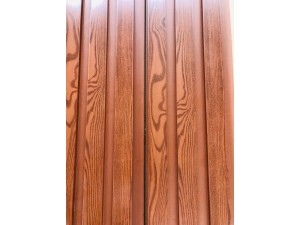 PVC CLADDING 2.8M X 192MM X 16MM TIMBER LOOK WITH CHANNEL (10/BOX) #W-3-3