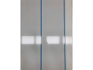 PVC CLADDING 2.8M X 200MM X 7.5MM BLUE, WHITE STRIPE (10/BOX) #X-106 SOLD PER PIECE