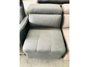 ALANA 1 SEATER NO ARM IN GREY - SY78001-9