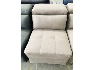 ALANA 1 SEATER NO ARM IN BROWN SY78001-2