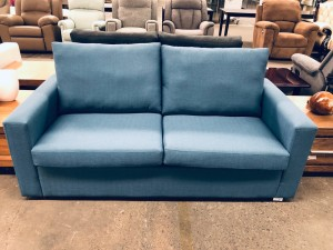 JAMIE 2.5 SEATER WITH PULL OUT SOFA BED B#37 INNERSPRING
