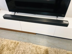 SK8Y LG SOUND BAR WITH THE SUB-WOOFER SER: 99800