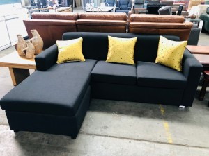 CIVIC 2 SEATER WITH CHAISE - CAN BE ON EITHER END (M26)