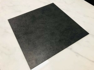 VINYL TILES - BLACK PATINE 500 X 500MM TARKETT ID INSPIRATION 55 R10 SLIP RATING - 2.5MM THICK - SOLD PER BOX - 4 SQM/BOX - (GROSS WEIGHT/BOX 16KG)