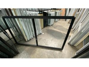 SLIDING WINDOW 1030 X 1790 BLACK - CLEAR