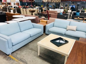 BLUE 2.5 + 2.5 SEATER LOUNGE SUITE - 6N
