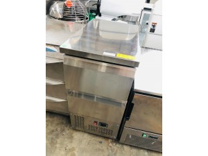GNS4000-2D - STAINLESS STEEL BENCHTOP FRIDGE WITH 2 DRAWERS 435X700X886