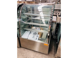 H-SL830 - CURVED GLASS HOT FOOD SHOWCASE 900X740X1350