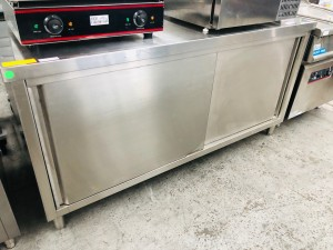 DTHT-1800-H - DOUBLE SLIDING CABINET (ONE SIDE) 1800X700X900H