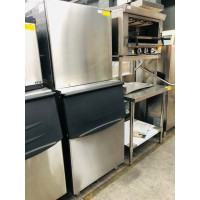 AC-1300 ICE MAKER WITH AIR COOLING SYSTEM 555KG/24HRS 280KG STORAGE - 760 X 860 X 2050