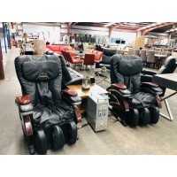 COMMERCIAL MASSAGE CHAIRS WITH $2 COIN PAYMENT - SOLD AS IS