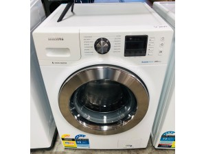 SAMSUNG 11KG BUBBLE WASH MACHINE FRONT LOADER - FACTORY SECOND - COMES WITH 30 DAYS WARRANTY FROM THE DATE OF PURCHASE #WW11R64FUOM # 112352 DISPATCH# 20210517