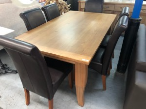 MONTROSE DUNE 1800MM DINING TABLE - FACTORY SECOND (FA390T1)
