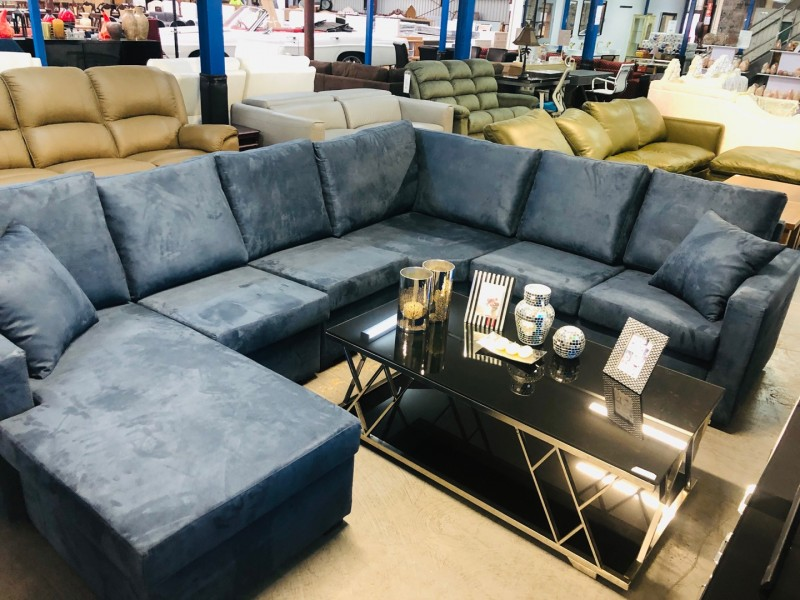 JEREMY CNR LOUNGE SUITE WITH CHAISE (CHAISE CAN BE MOVED)