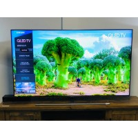 """SAMSUNG 75"""" 4K QLED SMART TV - PRODUCT#QA75Q7FNA - SOLD AS IS - COMES WITH 30 DAYS WARRANTY FROM THE DATE OF PURCHSE"""