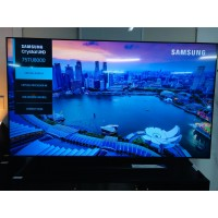 """SAMSUNG 75"""" CRYSTAL UHD LED 4K SMART TV #UA75TU8000 - SOLD AS IS - COMES WITH 30 DAYS WARRANTY FROM THE DATE OF PURCHASE SN:107304 - HORIZONTAL LINE"""