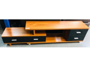 LOW BEECH COLOUR TV STAND