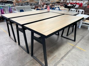 DURHAM ENTERTAINER BAR TABLE