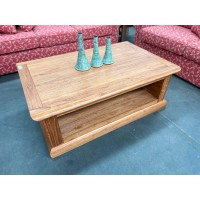 ASHBY SOLID TIMBER COFFEE TABLE