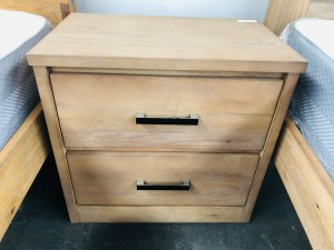 BARGO BEDSIDE TABLE (B-1212-18) FACTORY SECOND