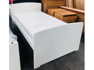 ROBYN KING SINGLE BED ARCTIC