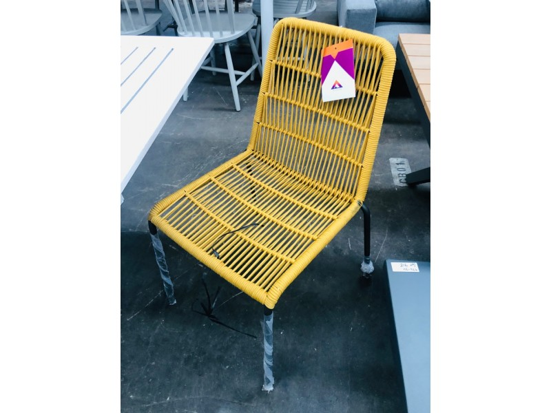 EIRA DINING CHAIR YELLOW
