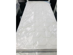 SINGLE SIZE MATTRESS WITH POCKET SRPING AND MEMORY FOAM TOP