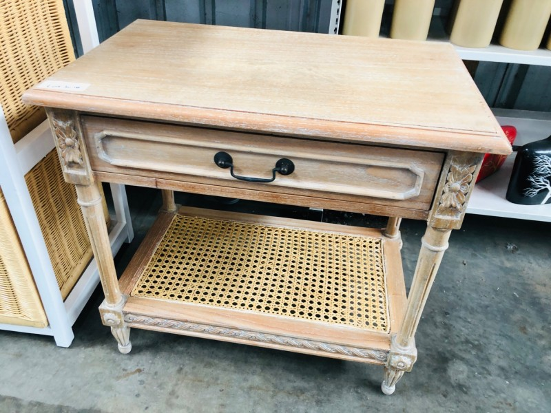 BEDSIDE TABLE P/NAME: RA-03 ITEM: MTAB212 SOLD AS IS