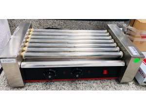ROLLING HOTDOG GRILL 7 ROLLERS 585X330X225MM 1.4KW - #THD-07KW