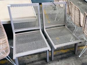 RATTEN STYLE WEAVED SEAT